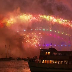 Welcome to 2018! Sydney New Year's Eve Fireworks (full version) #SydNYE