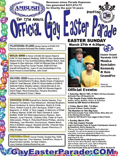 The 17th Annual Official Gay Easter Parade