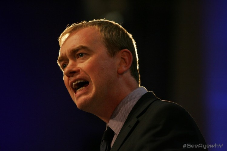 tim farron regrets not saying gay sex  Is Not A Sin