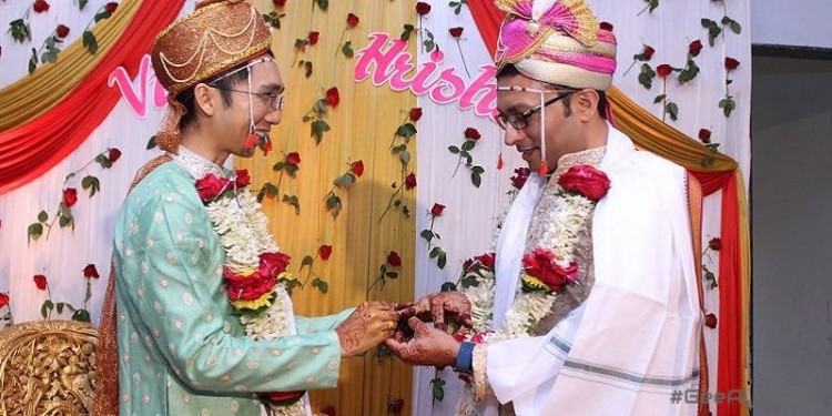 India's first gay marriage #geeayewhy