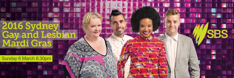 mardi gras In a special event broadcast, comedians Magda Szubanski and Tom Ballard will return as hosts, as well as The Feed's Patrick Abboud and TV personality Faustina Agolley.