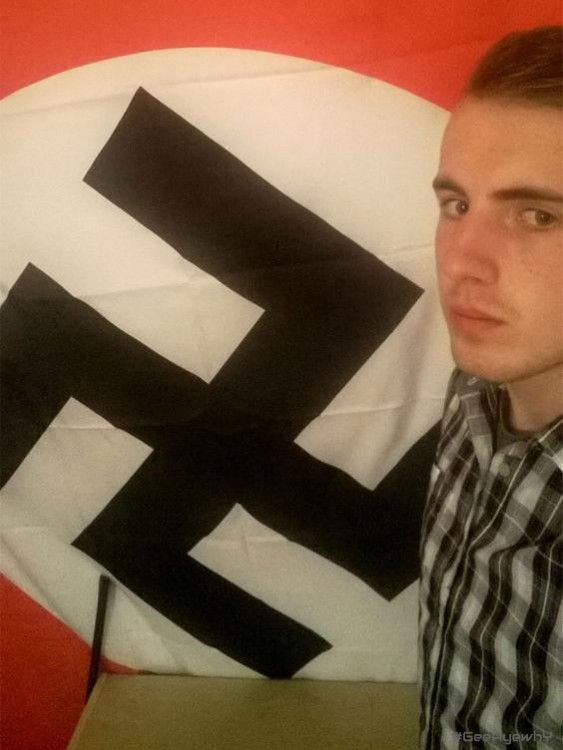 A white supremacist convicted over gay pride attack plan
